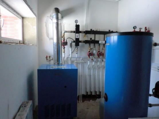 В готовых домах установлены газовые котлы фирмы Buderus