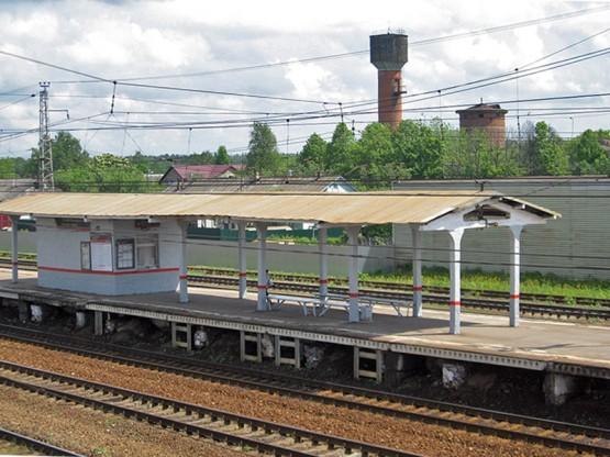 Железнодорожная станция Манихино в 1 км от поселка.